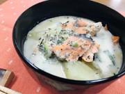 石狩鍋風スープの写真