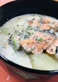 石狩鍋風スープ