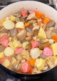 お正月我が家の定番◆甘めのうま煮