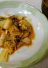 タラの白菜とトマト炒め&人参キノコの味噌