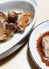 宮崎の豚軟骨 ポン酢と唐辛子でさっぱり
