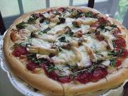 ふんわりピザ (アメリカンタイプ)の写真