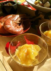 焼き芋で簡単栗きんとん★かなり時短美味