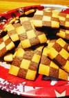 バニラとココアのアイスボックスクッキー
