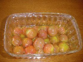 ミニトマトのオリーブオイル漬