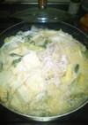 白ゴマ豆乳鍋