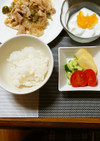 ヨウサマの減塩朝食(減量ver) ㉛