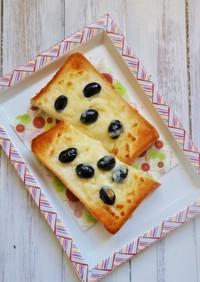 簡単!黒豆とチーズのトースト