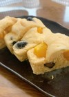 おせちリメイク 黒豆と栗の蒸しパン