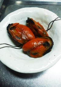ひる貝の甘辛煮