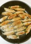肉巻き♪簡単桃屋搾菜と豚肉でおつまみ