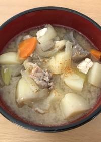 北海道の豚汁(ぶたじる)