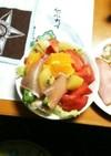 夫♡作(^^♪朝食サラダ