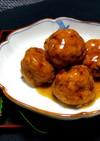 豆腐入り*鶏ひき肉団子の甘酢あん