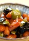 豆とオリーブの和え物☆