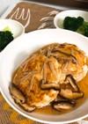 【ダイエット】鶏むねバーグ きのこソース