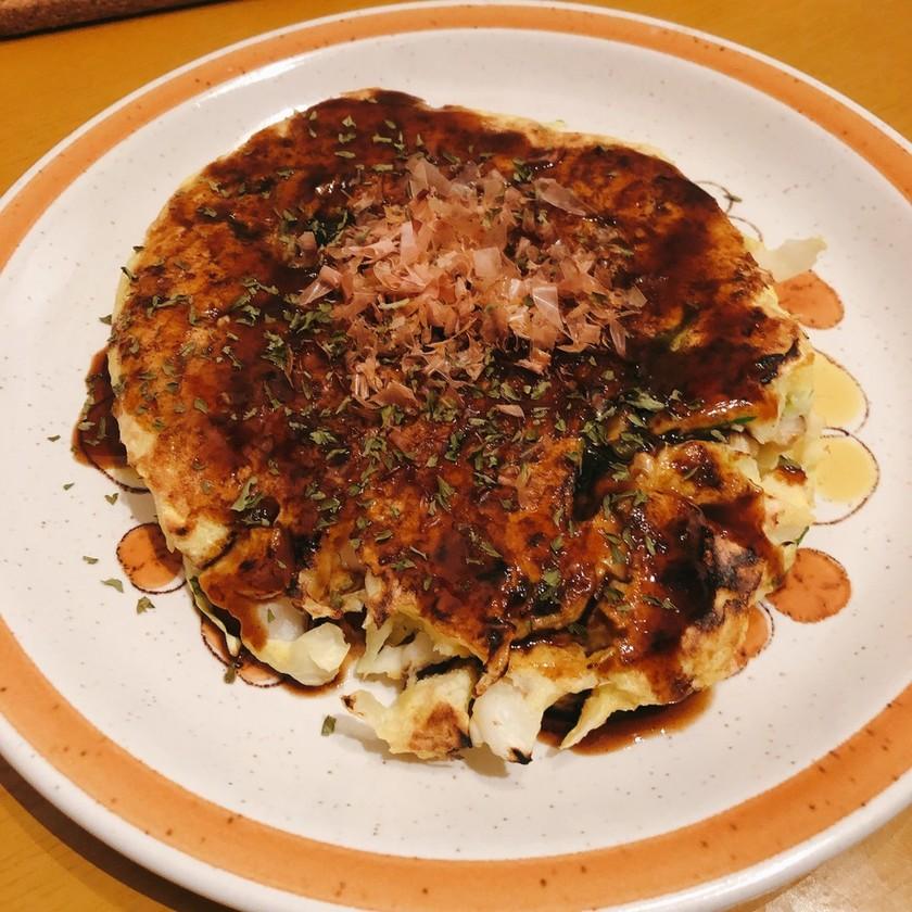 【ダイエット】シーフードお好み焼き風