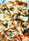 おせち料理のリメイクピザ
