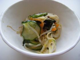胡瓜と筍の酢の物