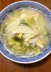 豚しゃぶのスープ&白だしで、あんかけ煮麺
