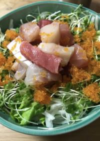 韓国風海鮮丼(フェドッパプ)