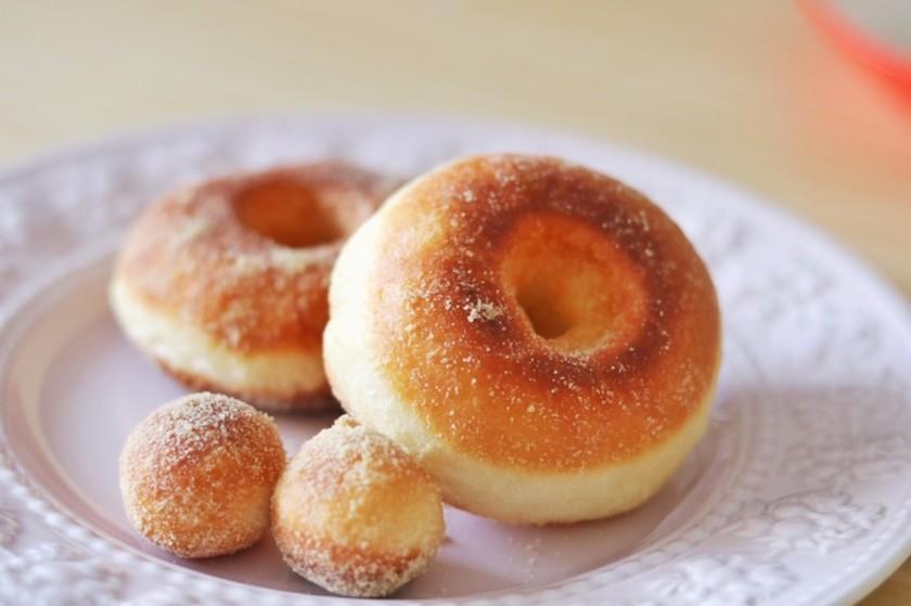 堀口家のメープルシュガードーナツ