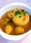 丸ごとレンチン玉ねぎのツナカレースープ