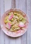 簡単!白菜とかまぼこの胡麻マヨサラダ