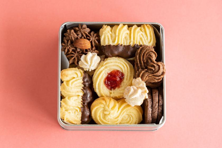 バレンタインに大量生産♡絞り出しクッキー