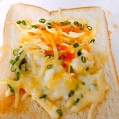 朝食に!簡単すぐ出来る!卵トースト