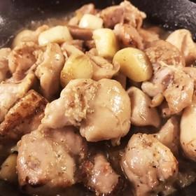 【ロンドンでも日本食】鶏にんにくの塩焼き