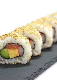 海苔屋さんの裏巻き寿司