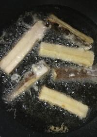 超簡単 ごぼうの天ぷら