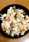 高菜と明太子の炊き込みご飯