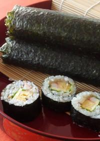 恵方巻に♪干ぴょうと椎茸入り巻き寿司