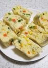 超簡単!ミックスベジタブルチーズ蒸しパン