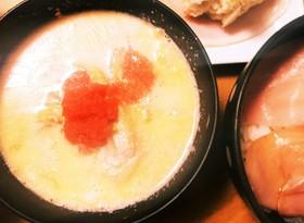 濃厚でおいしい!白菜の明太ミルクスープ♪