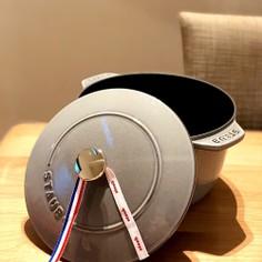 ストウブ ココットデゴハンで2合炊き