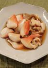 ホッキ貝の煮付け
