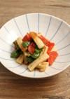 レンジで簡単!竹輪と野菜の鶏がら煮