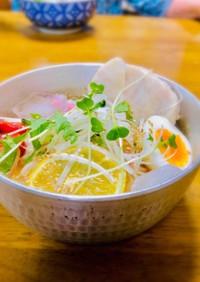 ひやむぎ韓国風冷麺532kcal