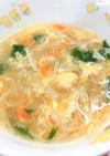 【保育園給食】えのきのふわふわスープ