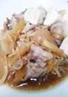 簡単♪豚バラで肉豆腐!