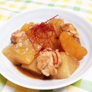 大根と鶏もも肉のオイスター煮