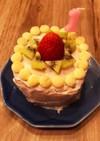 1歳バースデーケーキ♡