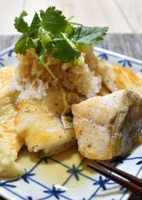 タラと豆腐のおろしポン酢がけ