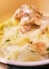 中華風 白菜のクリーム煮