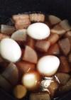 コーラで豚の角煮!大根&ゆで卵を一緒に!