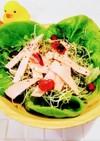 ブロッコリースプラウトの時短サラダ♪