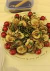サワラと梨のロール巻き焼き